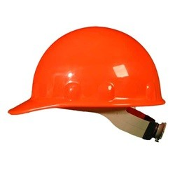 Fibre-Metal E2RW Cap Style Hard Hat w/ Ratchet Suspension - Orange