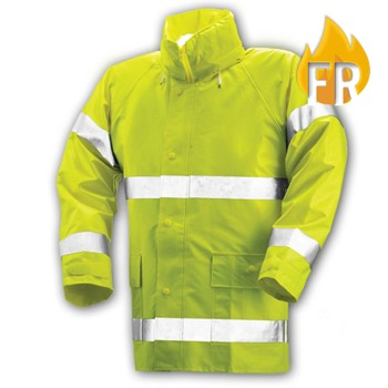 Tingley FR Hi Viz Rain Wear - Jacket