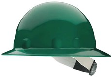 Fibre-Metal E1RW Full-Brim Hard Hat w/ Ratchet Suspension - Green