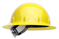 Fibre-Metal E1RW Full-Brim Hard Hat w/ Ratchet Suspension - Yellow