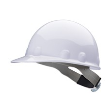 Fibre-Metal E2RW Cap Style  Hard Hat w/ Ratchet Suspension - White