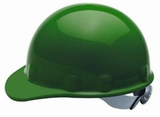 Fibre-Metal E2RW Cap Style Hard Hat w/ Ratchet Suspension - Green