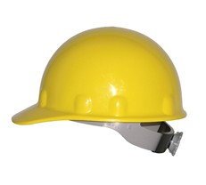 Fibre-Metal E2RW Cap Style Hard Hat w/ Ratchet Suspension - Yellow