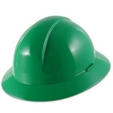 A49040000 Everest Full Brim North by Honeywell Hard Hat - Green