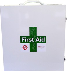 3 Shelf First Aid Cabinet