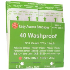 Easy Access Bandage Station Refills - 9999-3041-Washproof 40ct.