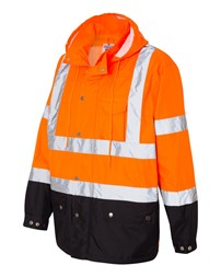 ML Kishigo - Storm Cover Waterproof Rain Jacket - RWJ102-103 - Orange