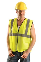 Occunomix Value Solid Standard Vest - Yellow