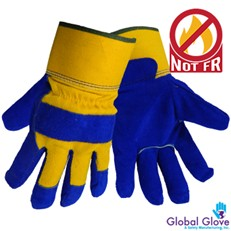Global Glove: 2805 Pile Lined Winter Leather Palm - Per Dozen/Size