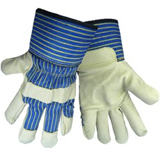 Global Glove: 2900 Pigskin with ColdKeep Insulation, Safety Cuff. Per Dozen/Size