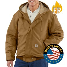 Carhartt FR Midweight Active Jac - Brown