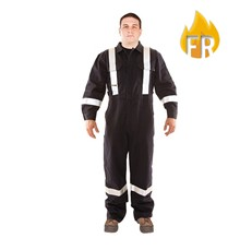 Utility Pro FR Reflective Coverall - Navy
