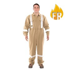 Utility Pro FR Reflective Coverall - Tan